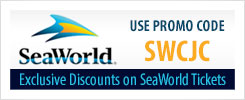 Seaworld. Use promo code SWCJC