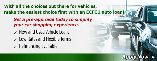 Apply for Auto Loan.
