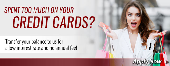 Apply for Credit Card Transfer Balance.